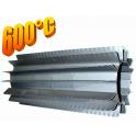 Radiator - wymiennik cieplny 100/370mm szary