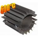 Radiator - wymiennik cieplny 150/250mm szary