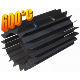 Radiator - wymiennik cieplny 150/370mm szary