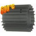 Radiator - wymiennik cieplny 180/250mm szary
