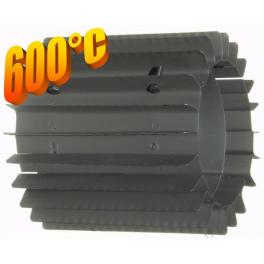 Radiator - wymiennik cieplny 200/250mm szary