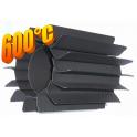 Radiator - wymiennik cieplny 100/250mm szary