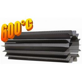 Radiator - wymiennik cieplny 110/500mm szary