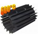 Radiator - wymiennik cieplny 200/370mm szary