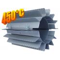 Radiator - wymiennik cieplny 120/250mm cynk