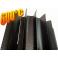 Radiator - wymiennik cieplny 130/500mm czarny
