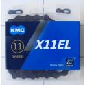 Łańcuch KMC X11EL BlackTech Box