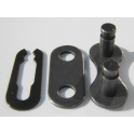Złączka KMC CL-410SC Spring-Clip (singlespeed, pin 8.6mm, 1 komplet, folia)