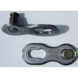 Złączka KMC CL-573R (8 speed, pin 7.3mm, 1 komplet, folia)