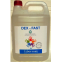 DEX-FAST - żel do higienicznej dezynfekcji rąk 5l